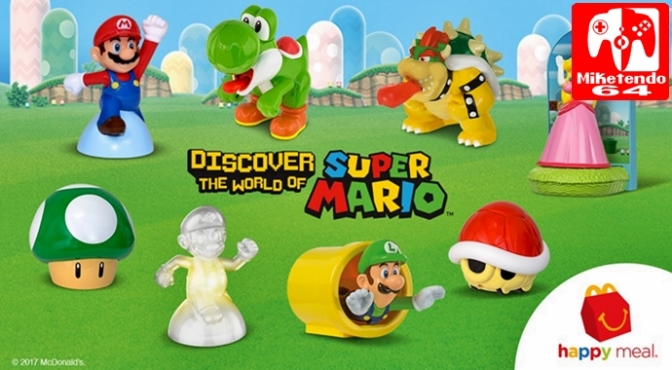 Mario Toys Finally Come to McDonalds in the United States