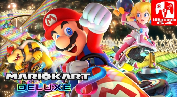 [Literature] New Mario Kart 8 Deluxe Official Guide Releases Later this Month