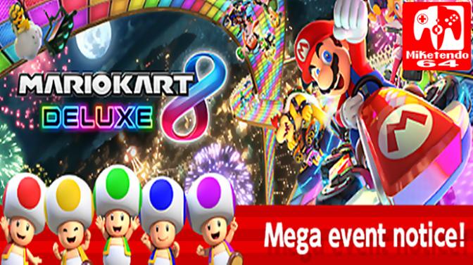 Super Mario Run- Mario Kart 8 Deluxe Mega Event Reaches Switch Goal!