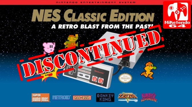 NES Classic Edition Production Has Been Discontinued (US)
