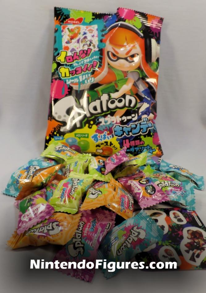 Splatoon Nobel Hard Candy Opened