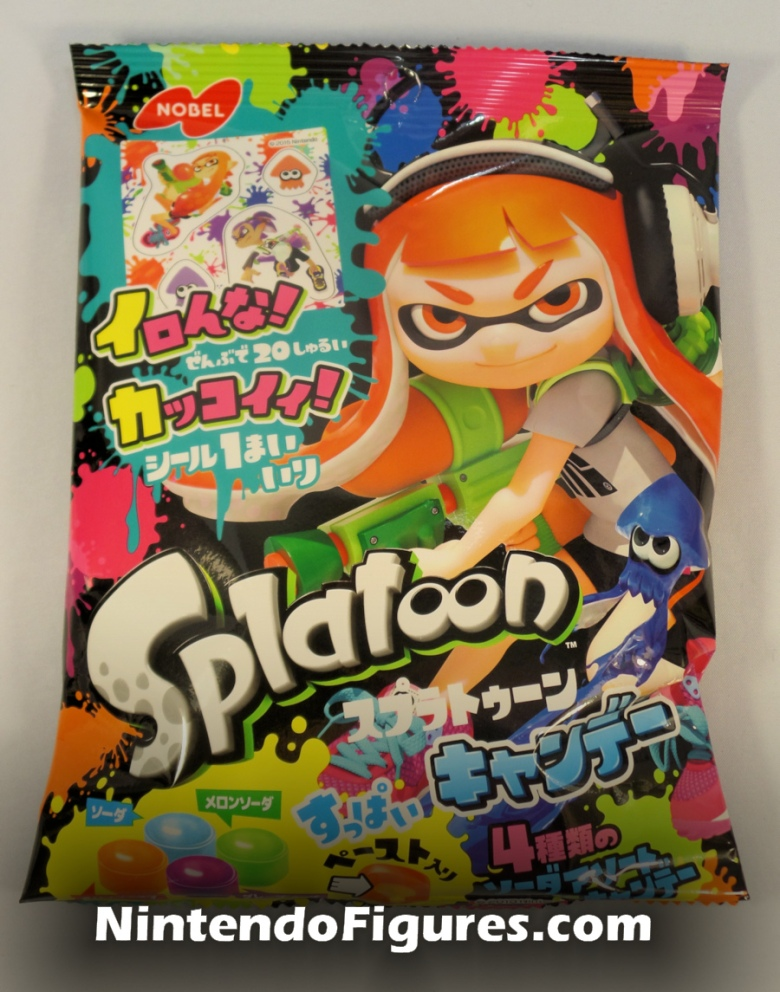 Splatoon Nobel Hard Candy Packaging