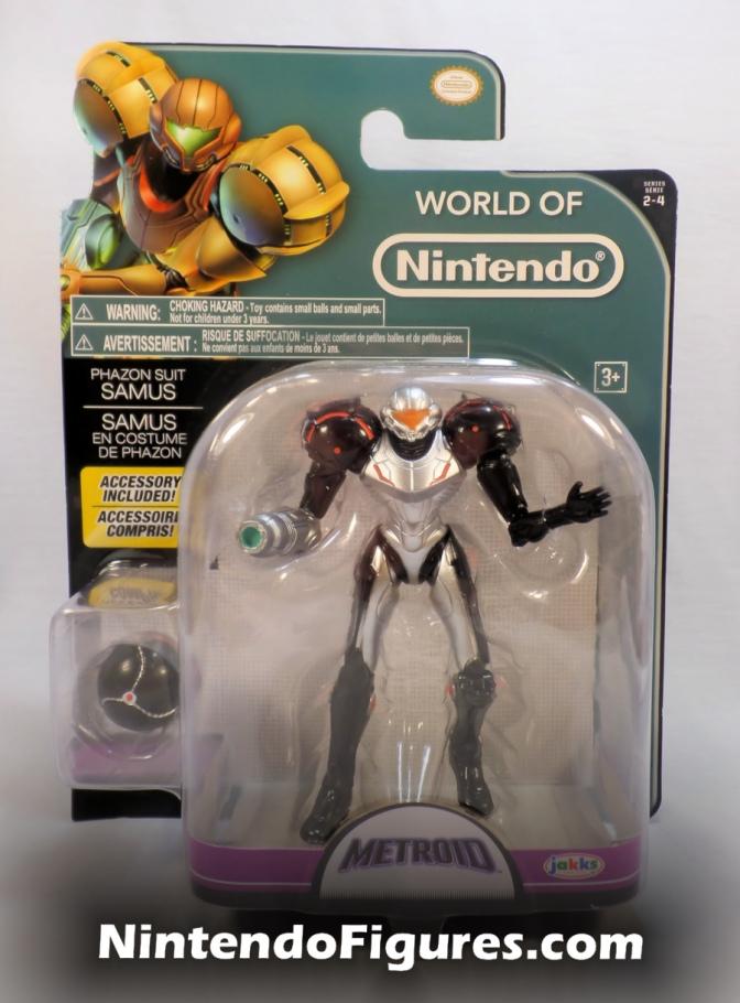 Phazon Suit Samus World of Nintendo 4″ Inch Figure Review