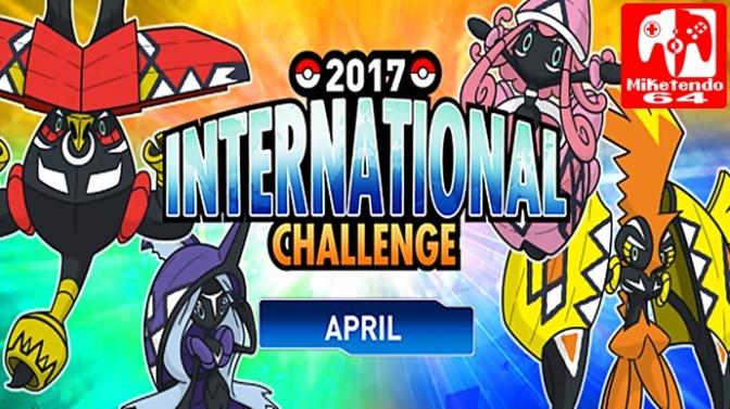 Pokémon Sun & Moon April Battle Competition Registration Now Open, Competition Begins April 28th
