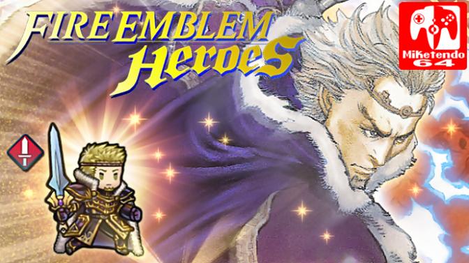 Fire Emblem Heroes Grand Hero Battle Zephiel Awaits