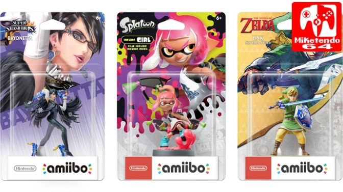 [Gallery] New amiibo Showcase (April 2017, Zelda, Smash Bros & Splatoon 2)