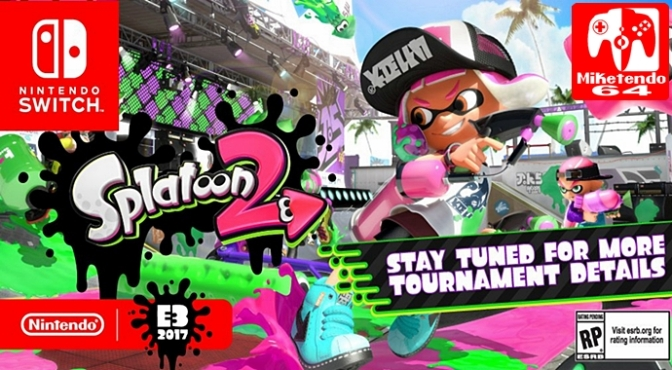 [Random] E3 2017 Will See Nintendo Host a Special Pre-Release Splatoon 2 Tournament