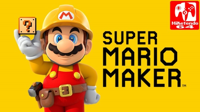 [Update] New Update for Both Wii U & 3DS Version of Super Mario Maker is Available Now