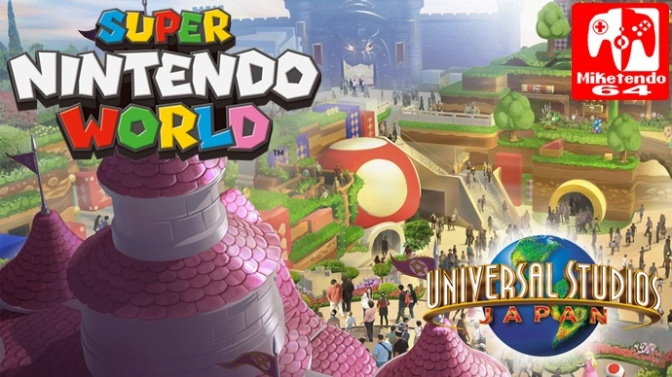 (Japan) Super Nintendo World Construction In Initial Stages
