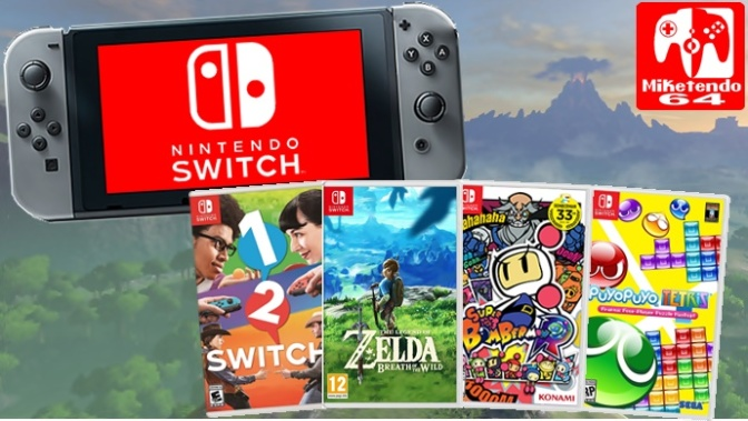[Patch Notes] Nintendo Switch Firmware Version 3.0.1