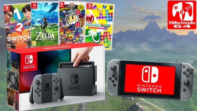 Kimishima Comments on 1-2-Switch, Super Bomberman R, Snipperclips' & Breath of the Wild's Switch Sales Performance