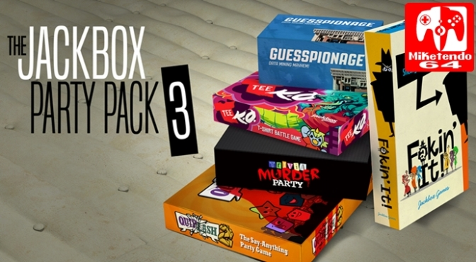 [Review] Keeping the Party Going with The Jackbox Party Pack 3