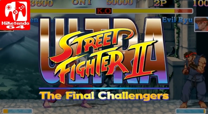 Nintendo is Personally Handling the Distribution of Ultra Street Fighter II: The Final Challengers in Europe