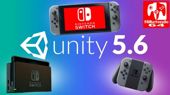 Nintendo Switch Gets Unity 5.6 Engine Support