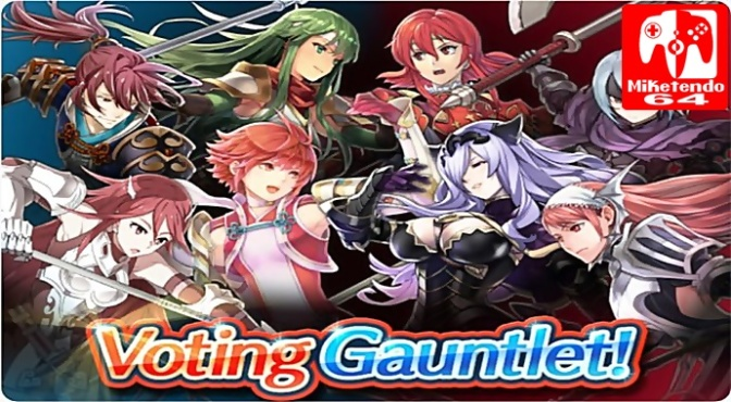 Fire Emblem Heroes Voting Gauntlet #2 Goes Into Round 2 & Extra Log-In Bonus