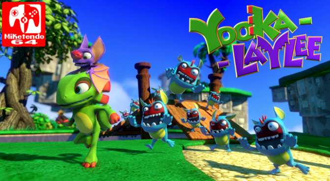 Yooka Laylee Review Scores Now Surfacing