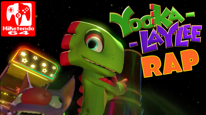 "(Video) Playtonic Games Presents ""Yooka Laylee Rap"""
