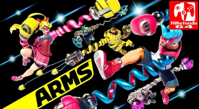 "[Video] A ""Poorly Shot and Grainy"" Preview of ARMS's forthcoming Fighter"