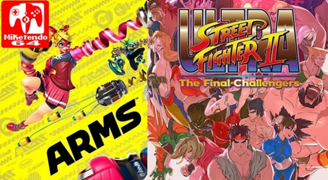 [Editorial] Ultra Street Fighter II: The Final Challengers vs. ARMS (The Fight isn't On, it's Already Over!)