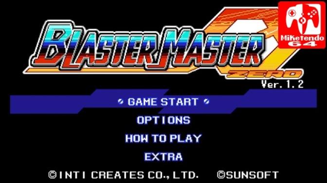 Inti Creates Go Above & Beyond with Blaster Master Zero's Version 1.2 Update