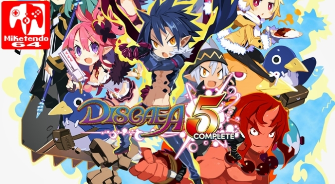 [Review] Disgaea 5 Complete (Nintendo Switch)