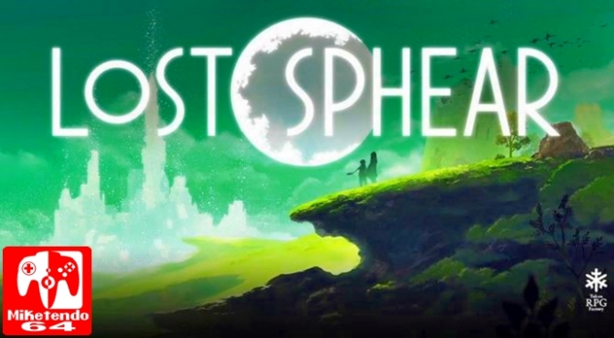 [Press Release] Lost Sphere Comes to Switch for North America and Europe on January 23rd