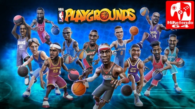 NBA Playgrounds To Bring New Mode, Friend Invites & 33 More players