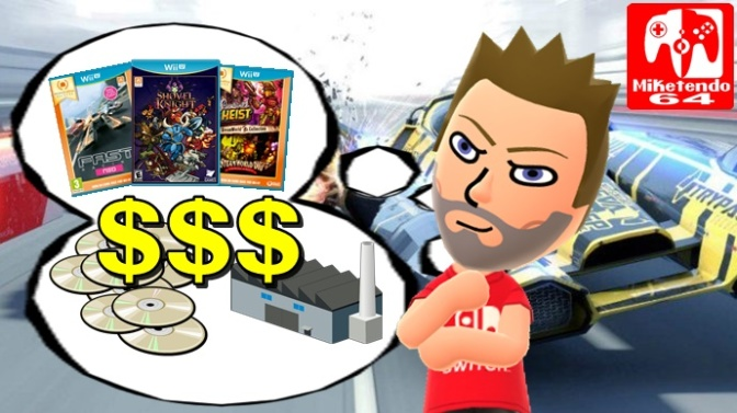 [Editorial] The Price Devs & Publishers Pay for Physical (Switch, Wii U, 3DS & Wii)