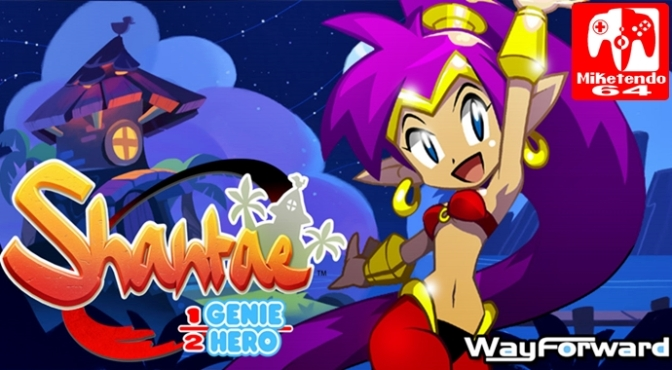 [US] WayForward Announce That Shantae: Half-Genie Hero Releases On  Switch In North America June 8th As Well