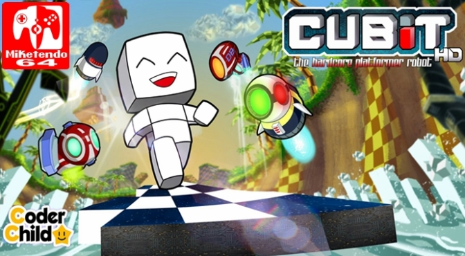 Cubit The Hardcore Platformer Robot HD Launches on Wii U on June 8th