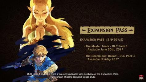 BOTW Expansion Pass