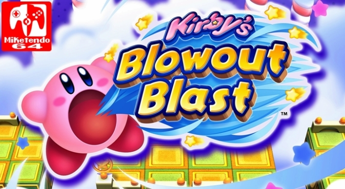 [Europe] Kirby's Blowout Blast Blasts its Way to Release on July 6th
