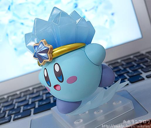 Ice Kirby Nendoroid Sliding