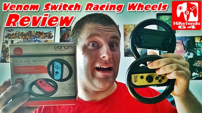 [Review] Venom Switch Racing Wheels Video Review