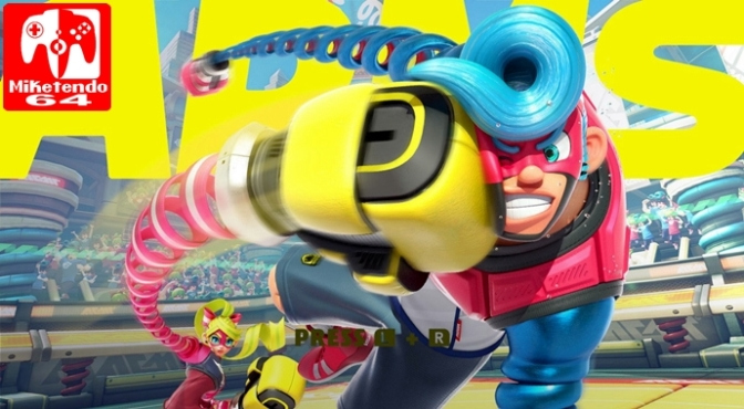 [Review] ARMS (Nintendo Switch)