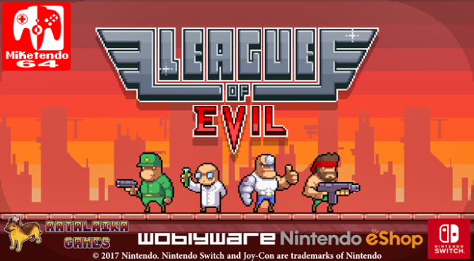 [Video] League Of Evil Nintendo Switch Gameplay 01