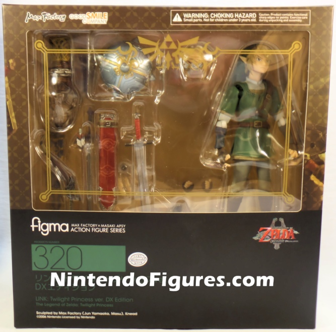 Link Twilight Princess Figma DX Box Legend of Zelda