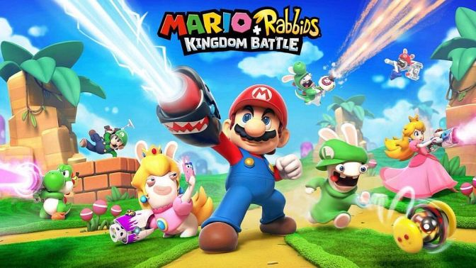 "[Video] Mario + Rabbids Kingdom Battle – Rabbid Luigi, Peach, Yoshi 6"" Unboxing"