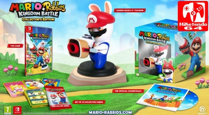 [Video] Mario + Rabbids Kingdom Battle – Collector's Edition Unboxing