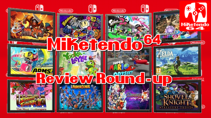 [Feature] The November 2017 Miketendo64 Review Round-up