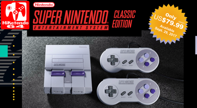 Super NES Classic Edition Announcement & Complete List of Games (Which Includes the Unreleased Star Fox 2)
