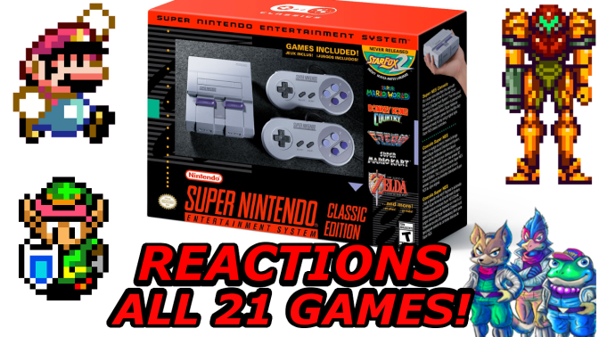 [Video] SNES Classic Announcement Reactions & Breakdown of All 21 Games