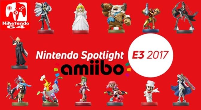 [Gallery] Nintendo E3 2017 Amiibo Showcase