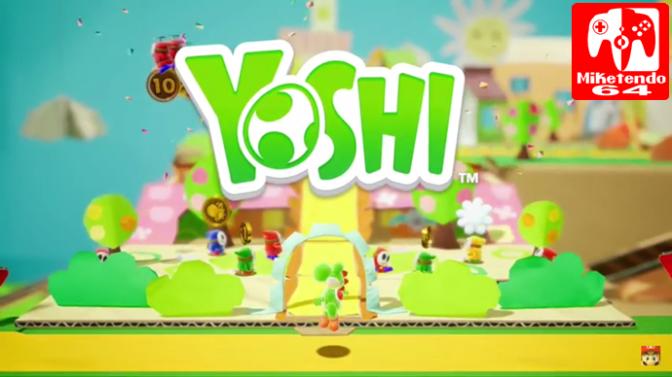 [Video] New Yoshi 2018 Game Showcase On Nintendo Treehouse E3 2017