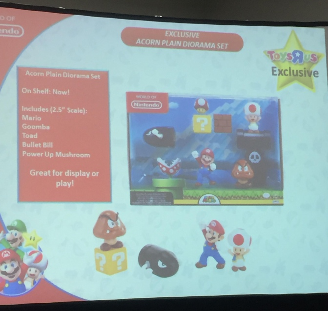 World of Nintendo Figure Announcements at Comic-Con