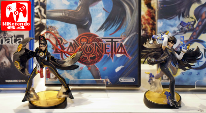 [Gallery] Settle it in Smash! Get an Eyeful of the Bayonetta, Corrin & Cloud amiibo