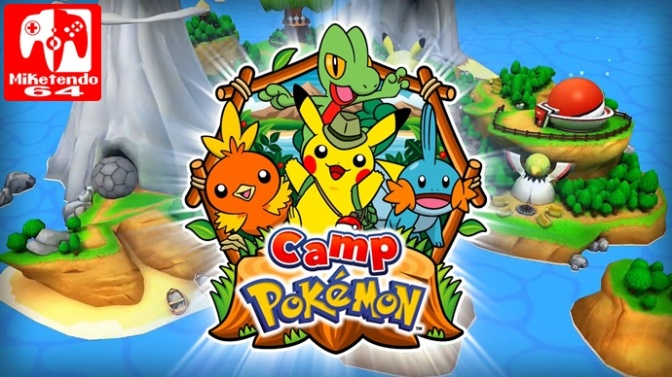 Camp Pokémon Gets A New Update & Pokémon Shuffle Celebrates Two Year Anniversary