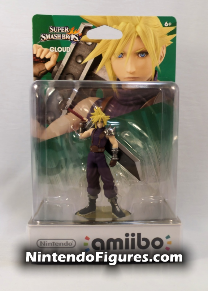 Cloud Amiibo (Player One) Review