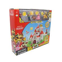 Mushroom Kingdom Castle Playset World of Nintendo Box