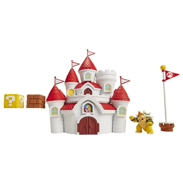 Mushroom Kingdom Castle Playset World of Nintendo